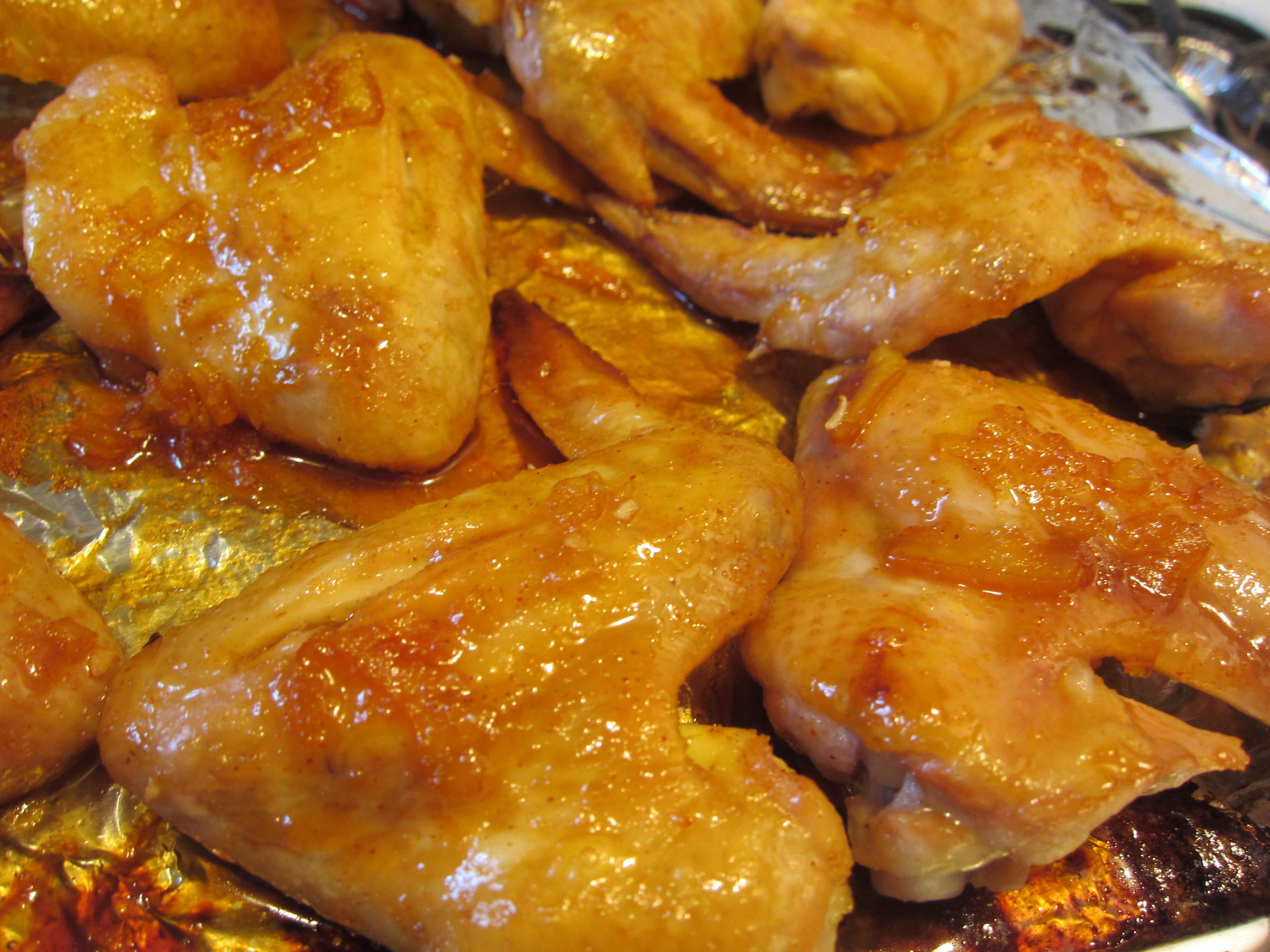 What You Need 12 Chicken Wings Orange Marmalade 2 Tbs Scoop Brown Sugar 2 Tbs Scoop Honey 1 Tbs Salt 1 2 Ts Soy Sauce 2 3 Tbs Vinegar 3 Tbs